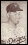 1947 Exhibits BRK Duke Snider   Front Thumbnail