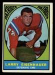 1967 Topps #9  Larry Eisenhauer  Front Thumbnail