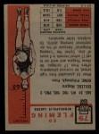 1957 Topps #79  Ed Fleming  Back Thumbnail