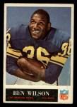 1965 Philadelphia #97  Ben Wilson   Front Thumbnail