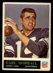 1965 Philadelphia #65  Earl Morrall   Front Thumbnail