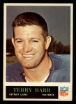 1965 Philadelphia #58  Terry Barr    Front Thumbnail