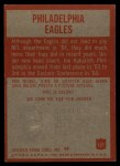 1965 Philadelphia #127   Eagles Team Back Thumbnail