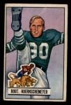 1951 Bowman #63  Bob Hoernschemeyer  Front Thumbnail