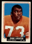 1964 Topps #51  Isaac Lassiter  Front Thumbnail