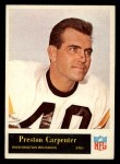 1965 Philadelphia #185  Preston Carpenter   Front Thumbnail