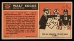 1965 Topps #84  Walt Suggs  Back Thumbnail
