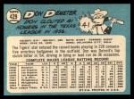 1965 Topps #429  Don Demeter  Back Thumbnail