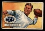 1951 Bowman #60  Lynn Chandnois  Front Thumbnail