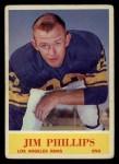 1964 Philadelphia #93  Jim Phillips  Front Thumbnail