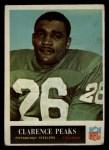 1965 Philadelphia #151  Clarence Peaks   Front Thumbnail