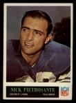 1965 Philadelphia #66  Nick Pietrosante   Front Thumbnail