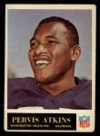1965 Philadelphia #184  Pervis Atkins  Front Thumbnail