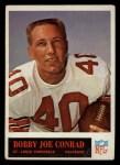 1965 Philadelphia #158  Bobby Joe Conrad  Front Thumbnail
