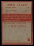 1965 Philadelphia #17  Doug Atkins   Back Thumbnail