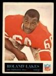 1965 Philadelphia #178  Roland Lakes   Front Thumbnail