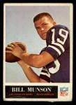 1965 Philadelphia #93  Bill Munson   Front Thumbnail