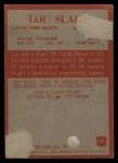 1965 Philadelphia #121  Lou Slaby   Back Thumbnail