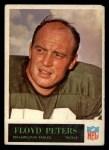 1965 Philadelphia #135  Floyd Peters   Front Thumbnail