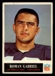 1965 Philadelphia #87  Roman Gabriel   Front Thumbnail
