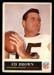 1965 Philadelphia #145  Ed Brown   Front Thumbnail