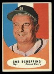 1961 Topps #223  Bob Scheffing  Front Thumbnail