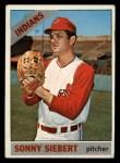 1966 Topps #197  Sonny Siebert  Front Thumbnail
