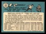 1965 Topps #543  Ed Connolly  Back Thumbnail