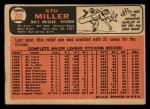 1966 Topps #265  Stu Miller  Back Thumbnail