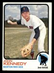 1973 Topps #437  John Kennedy  Front Thumbnail