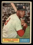1961 Topps #52  George Crowe  Front Thumbnail