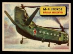 1957 Topps Planes #35 BLU  M-4 Horse Front Thumbnail