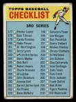 1966 Topps #183 LRG  Checklist 3 Front Thumbnail