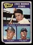 1965 Topps #597   -  Dick Reese / Joe Nossek / John Sevick Twins Rookies Front Thumbnail
