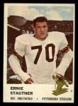 1961 Fleer #125  Ernie Stautner  Front Thumbnail