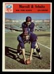 1966 Philadelphia #127  Bob Scholtz / Earl Morrall  Front Thumbnail