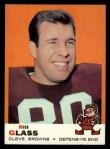 1969 Topps #74  Bill Glass  Front Thumbnail