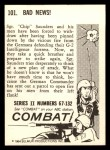 1964 Donruss Combat #101   Bad News Back Thumbnail