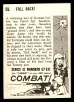 1964 Donruss Combat #99   Fall Back Back Thumbnail