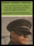 1966 Donruss Green Hornet #6   Surprising jewel thieves Back Thumbnail