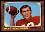 1966 Topps #63  Pete Beathard  Front Thumbnail