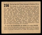 1938 Gum Inc. Horrors of War #256   Daring Jap Unit Takes Susung in Hankow Drive Back Thumbnail