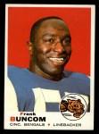 1969 Topps #143  Frank Buncom  Front Thumbnail