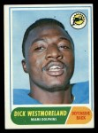 1968 Topps #118  Dick Westmoreland  Front Thumbnail