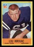 1967 Philadelphia #5  Lou Kirouac   Front Thumbnail