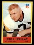 1967 Philadelphia #122  Charlie Bradshaw  Front Thumbnail