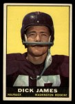 1961 Topps #124  Dick James  Front Thumbnail