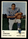 1961 Fleer #173  Al Jamison  Front Thumbnail