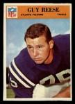 1966 Philadelphia #9  Guy Reese  Front Thumbnail