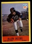 1967 Philadelphia #112  Allen Jacobs  Front Thumbnail